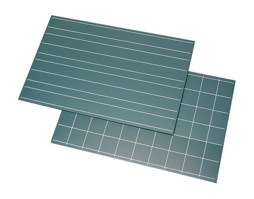 Green Boards Double Lines & Squares Set - Green Boards Double Lines & Squares Set
