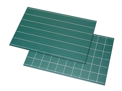 Green Boards Single Lines & Squares set - Green Boards Single Lines & Squares set