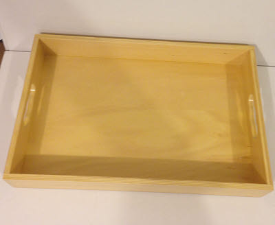 Large Wooden Pallet Tray - Large Wooden Pallet Tray