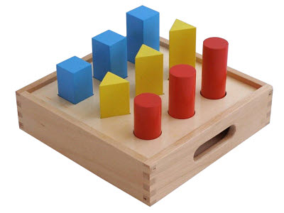Geometry Small Ladder (3 colours 3 shapes) -