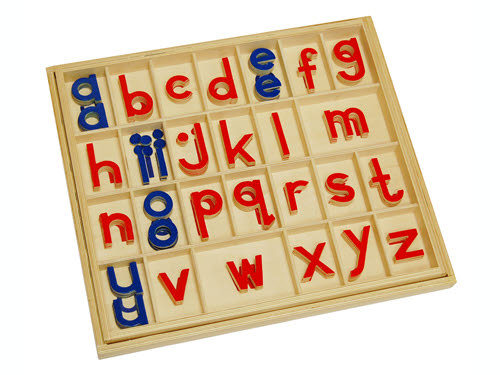 Movable Alphabet - Small Print in Box - Movable Alphabet - Small Print in Box