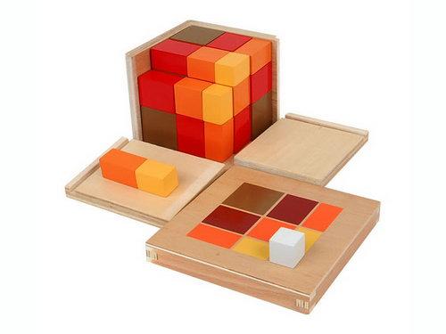 Arithmetic Trinomial Cube - Arithmetic Trinomial Cube
