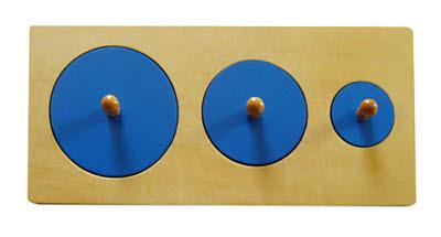 3-Circle Puzzle -