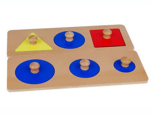Multiple Shapes Puzzle - Set of 2 - Multiple Shapes Puzzle - Set of 2