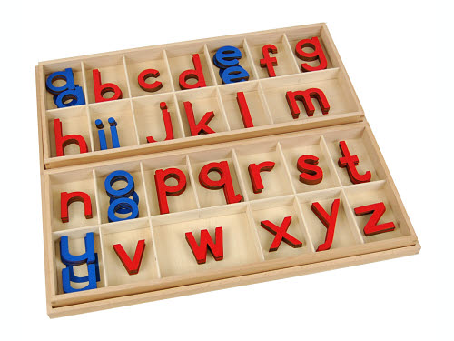 Movable Alphabet - Large Print in Box - Movable Alphabet - Large Print in Box