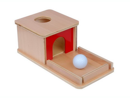 Object Permanence Box with Tray - Object Permanence Box with Tray