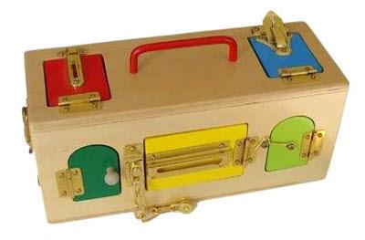 Lock Box Exercises (with colour doors) - Lock Box Exercises (with colour doors)