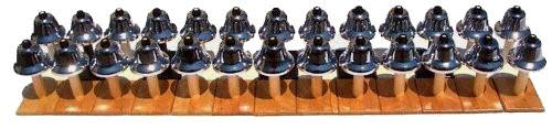 Complete set of Montessori Bells - Complete set of Montessori Bells