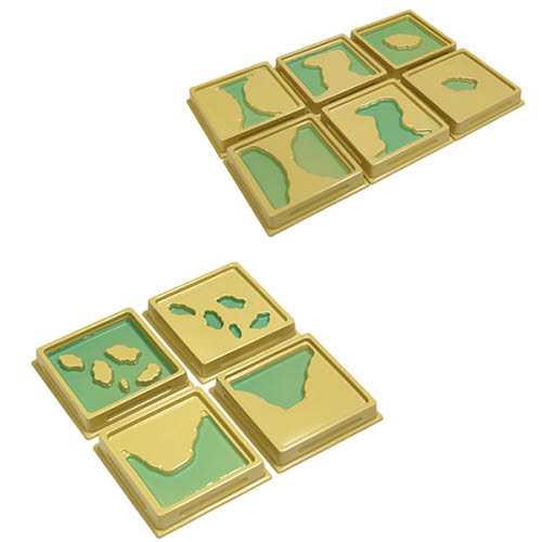 Land and Water form trays(10 pcs) - Land and Water form trays(10 pcs)