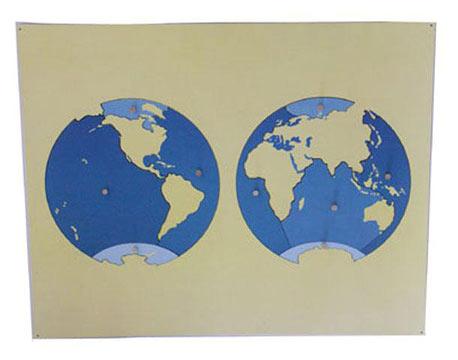 Puzzle map of Ocean - Puzzle map of Ocean