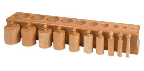 Cylinder Block NO.1 - Montessori Cylinder Block NO.1
