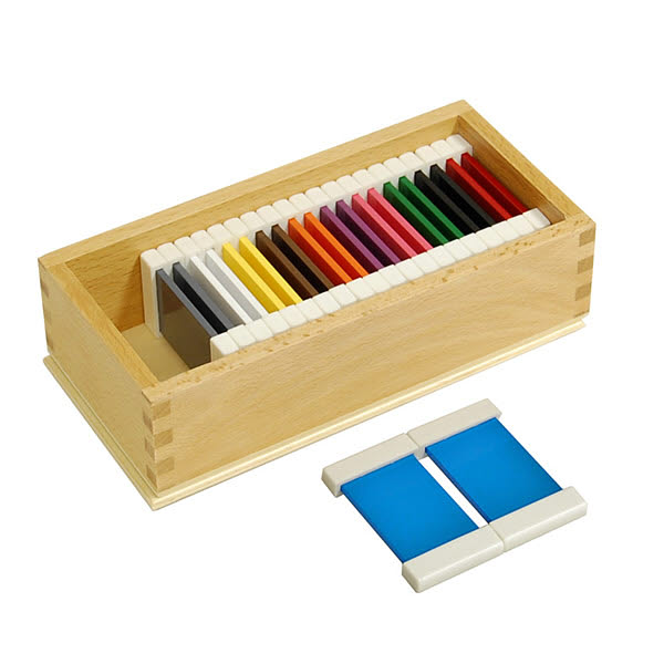 Second Box of Colour Tablets - Plastic Holders - Second Box of Colour Tablets - Plastic Holders