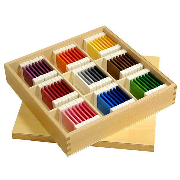 Third Box of Colour Tablets - Plastic Holders - Second Box of Colour Tablets - Plastic Holders