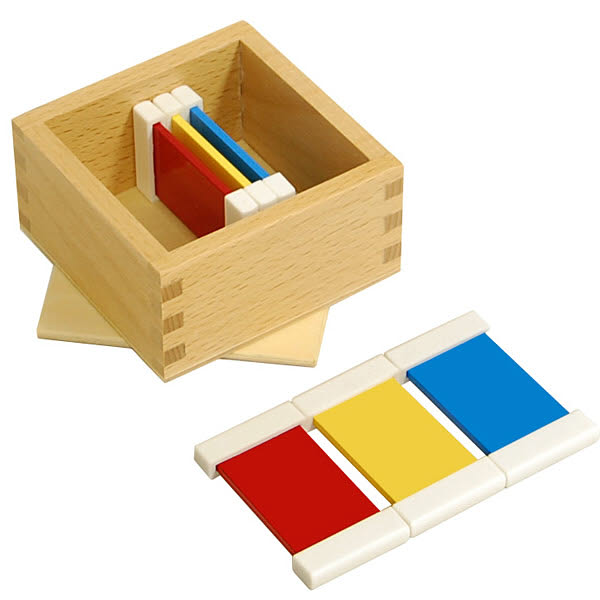 First Box of Colour Tablets - Plastic Holders - First Box of Colour Tablets