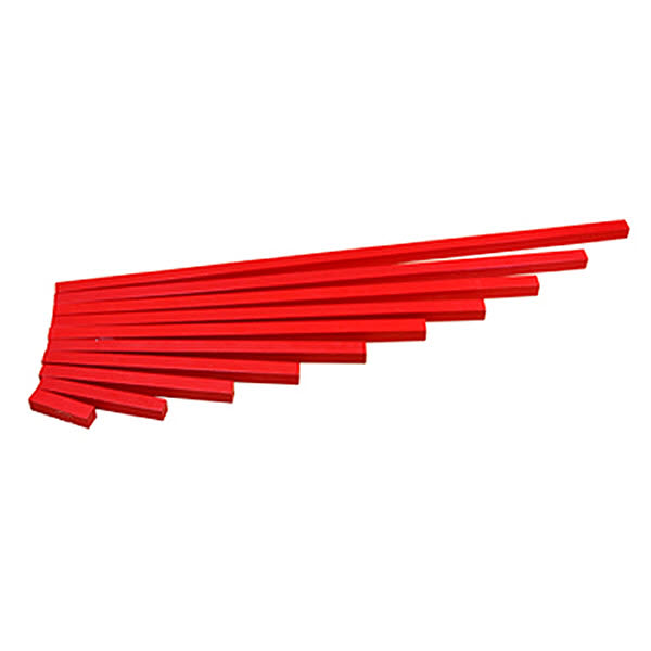 Long Red Rods -