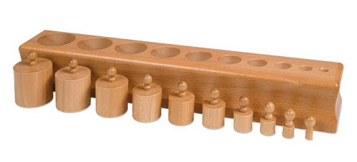 Cylinder Block NO. 2 - Montessori Cylinder Block NO.2