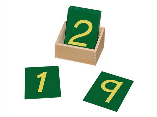 Sandpaper Numbers with Box -