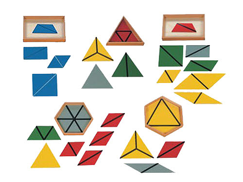 Constructive Triangles (Set Of 5  Boxes) - Constructive Triangles, Set Of 5  Boxes