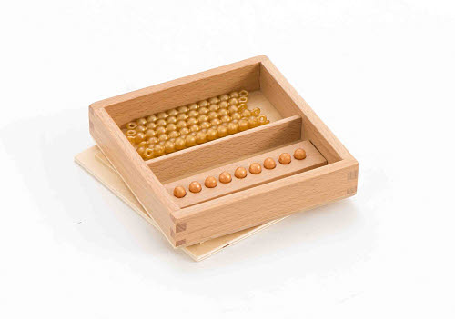 Tens Bead Box, Connected Beads -