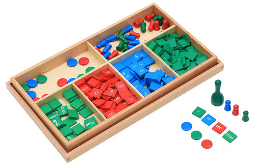 Stamp Game - Montessori Stamp Game
