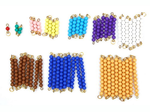 Short Bead Chains, Individual Beads -