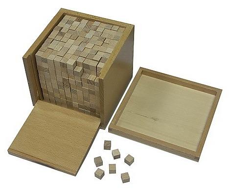 Volume Box With 1000 Cubes - Volume Box With 1000 Cubes