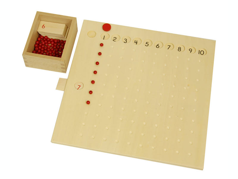Multiplication Bead Board Set - Multiplication Bead Board Set