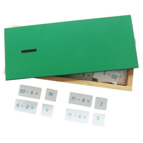 Subtraction Equations and Differences Box - Subtraction Equations and Differences Box