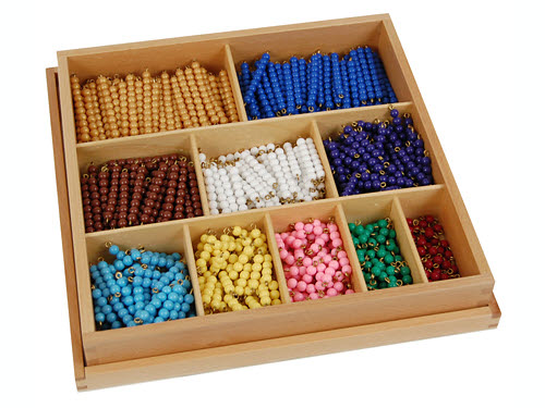 Decanomial Bead Box, Indiv. Beads - Decanomial Bead Box, Indiv. Beads