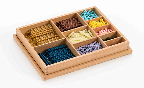 Decanomial Bead Box, Connected Beads - Decanomial Bead Box, Connected Beads
