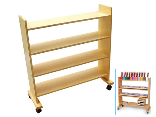 Shelf Frame For Metal Insets -