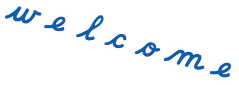 Movable Alphabet Small Cursive Blue - Movable Alphabet Small Cursive Blue