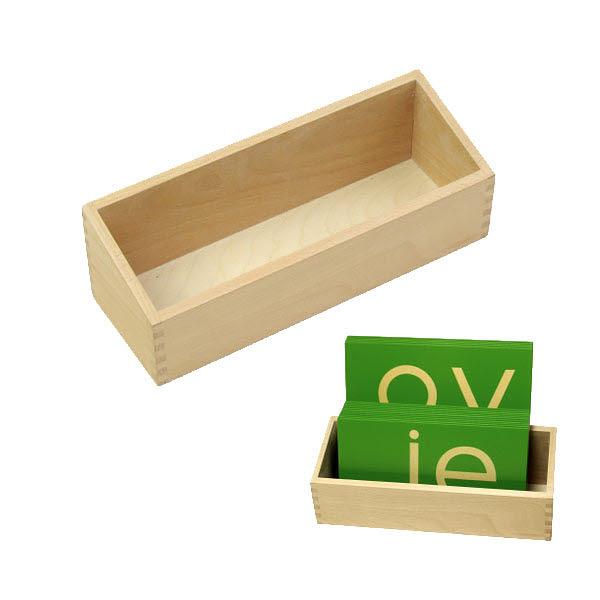 Sandpaper Double Letters Box - Sandpaper Double Letters Box