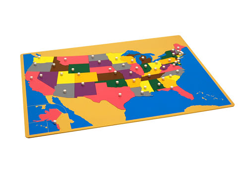 Puzzle Map Of USA - Puzzle Map Of USA