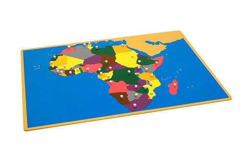Puzzle Map Of Africa - Puzzle Map Of Africa