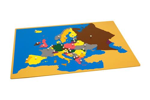 Puzzle Map Of Europe - Puzzle Map Of Europe