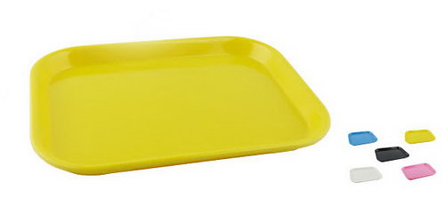 Melamine Tray - large (available in Yellow, Pink, White, Blue, Orange, Green, Black) specify colour in comments when ordering - Melamine Tray - large (available in Yellow, Pink, White, Blue, Black) specify colour in comments when ordering