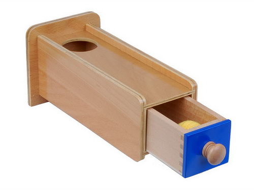 Object Permanence Box with Drawer - Object Permanence Box with Drawer