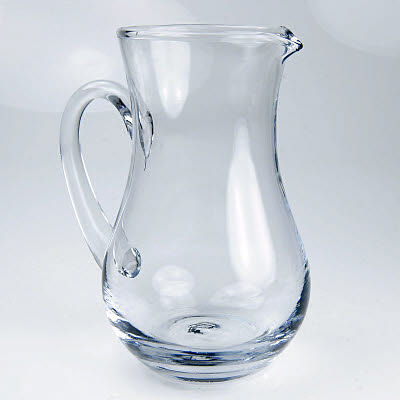 Glass Pouring Jug - lrg approx. 400ml -