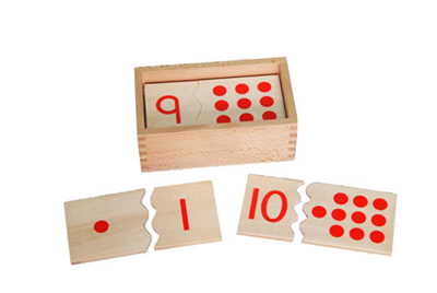 Numbers & Counters Puzzle Tiles -