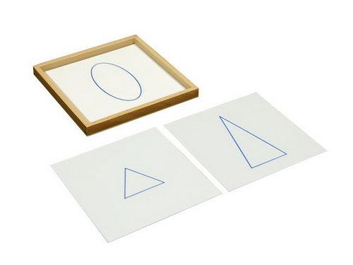 Geometric Cards with Tray - Geometric Cards with Tray