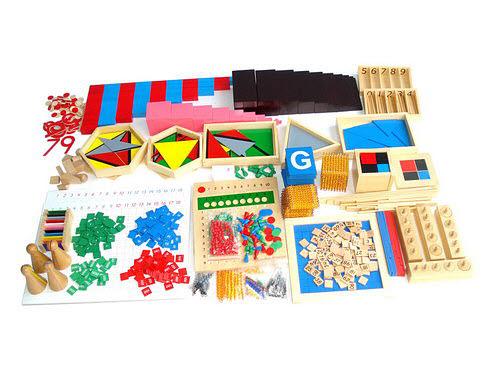 Mini 20 Materials Family Home School Set - Mini 20 Materials Family Home School Set