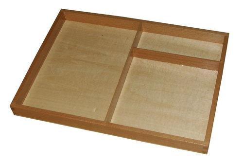 3 Part Card or Sorting Tray - 3 Part Card or Sorting Tray