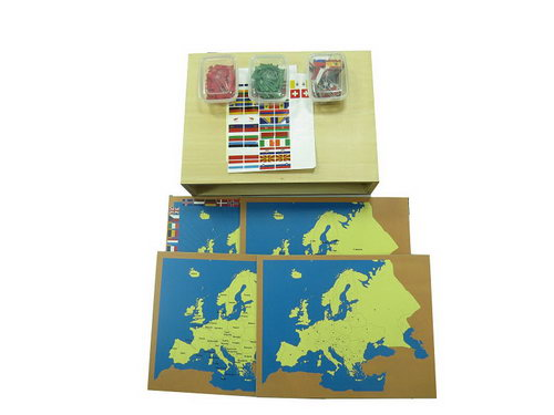 World Parts - Pin Maps of Europe Set & Cabinet - World Parts - Pin Maps of Europe Set & Cabinet