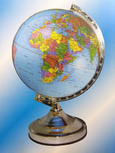 Globe of the World - Physical - Globe of the World - Physical