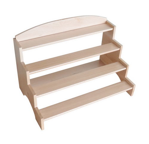 Cylinder Blocks Stand in Beech Wood - Cylinder Blocks Stand in Beech Wood