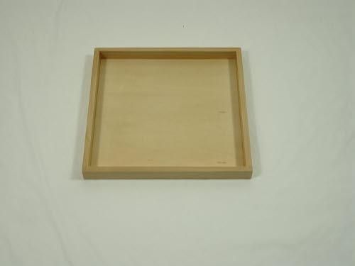 Square Wooden Tray - Square Wooden Tray