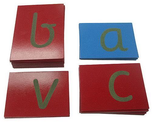 Sandpaper Letters - Sassoon Font - Montessori Sandpaper Letters - Sassoon Font