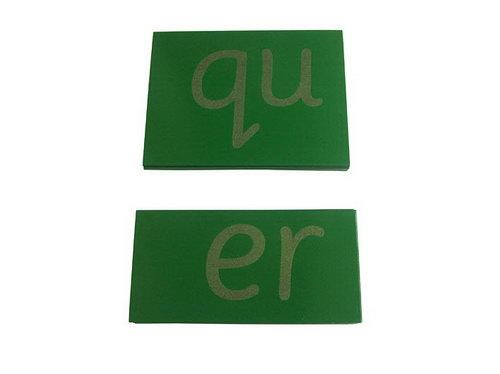 Sandpaper Double Letters - Sassoon Print - Sandpaper Double Letters - Sassoon Print