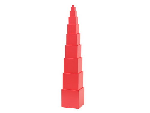 Mini Pink Tower 10 Steps - Mini Pink Tower